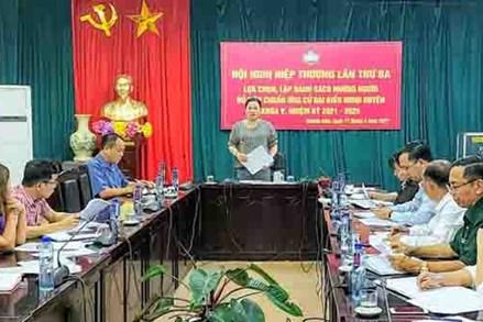 MTTQ huyện Mường Nhé tăng cường giám sát công tác bầu cử