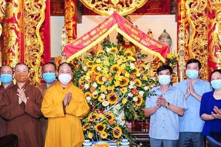 Ninh Bình: Chúc mừng Đại lễ Phật Đản 2021, Phật lịch 2565