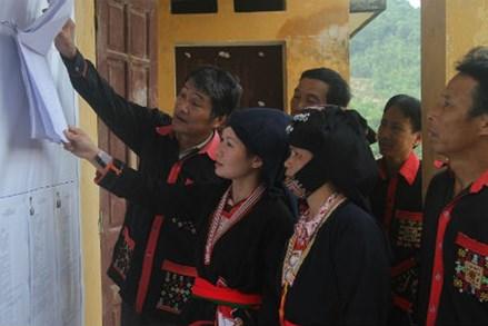 Người dân vùng cao Phú Thọ hân hoan đón ngày bầu cử