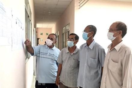 Đồng bào Khmer ở tỉnh Vĩnh Long gửi niềm tin vào người ứng cử