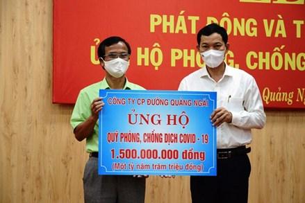 Gia Lai, Quảng Ngãi: Phát động quyên góp ủng hộ phòng, chống dịch Covid-19