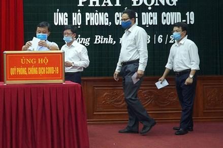 Quảng Bình: Phát động toàn dân đoàn kết, ủng hộ phòng, chống dịch Covid-19
