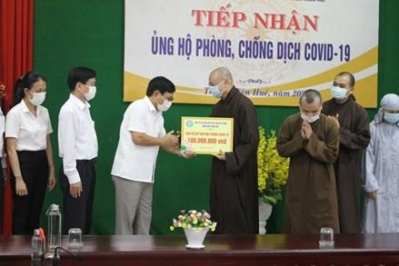 Thừa Thiên- Huế: Góp sức cùng cả nước phòng, chống dịch Covid-19