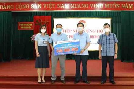Ủy ban MTTQ tỉnh Thái Nguyên, Thanh Hóa: Tiếp nhận ủng hộ phòng, chống dịch COVID-19