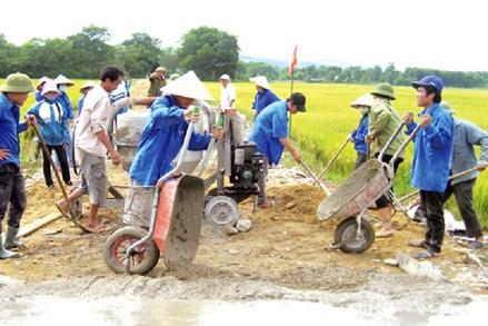 Đồng bào Công giáo tỉnh Phú Thọ tích cực xây dựng nông thôn mới