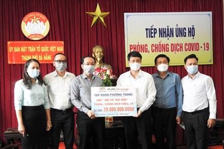 Gia Lai, Kon Tum, TP Đà Nẵng: Tiếp nhận ủng hộ công tác phòng, chống dịch Covid-19