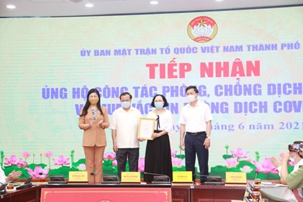 Hà Nội: Hơn 20,5 tỷ đồng ủng hộ công tác phòng chống dịch bệnh