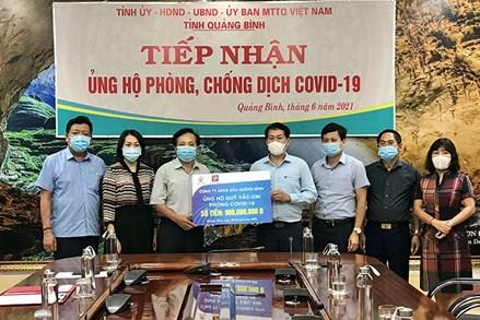 Quảng Bình: Tổng số tiền ủng hộ Quỹ Phòng, chống dịch Covid-19 đạt trên 21 tỷ đồng