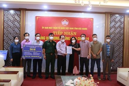 Sóc Trăng, Bắc Giang: Tiếp nhận ủng hộ phòng chống dịch Covid-19