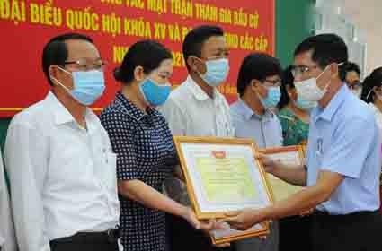 Quảng Ngãi:Tổng kết công tác Mặt trận tham gia bầu cử đại biểu Quốc hội và HĐND các cấp