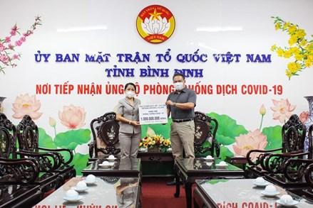 Bình Định, Quảng Trị, Sóc Trăng: Tiếp nhận ủng hộ công tác phòng, chống dịch Covid-19