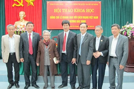 Đề cương tuyên truyền kỷ niệm 100 năm ngày sinh đồng chí Lê Quang Đạo