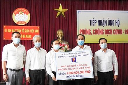 Thái Nguyên, TP Đà Nẵng: Tiếp nhận ủng hộ công tác phòng, chống dịch Covid -19