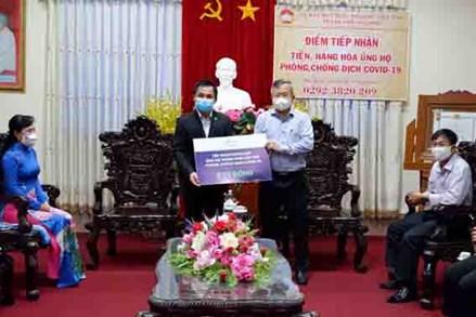 MTTQ TP Cần Thơ và tỉnh Gia Lai: Tiếp nhận ủng hộ Quỹ phòng, chống dịch Covid-19