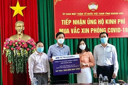 Khánh Hòa: Tiếp nhận hơn 1,4 tỷ đồng ủng hộ mua vắc xin phòng Covid-19
