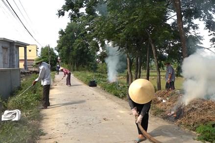 TX. Ba Đồn (Quảng Bình): Chung tay bảo vệ môi trường ở các khu dân cư