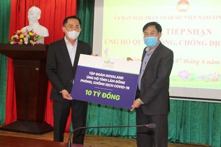 Lâm Đồng hỗ trợ 2 tỷ đồng cho Nhân dân Thành phố Hồ Chí Minh