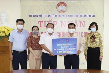 Quảng Ninh:Trên 140 tỷ đồng ủng hộ Quỹ phòng, chống dịch bệnh Covid-19