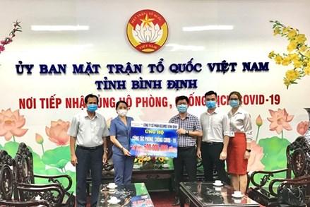 Bình Định: Hỗ trợ 1.612 triệu đồng phòng, chống dịch Covid-19