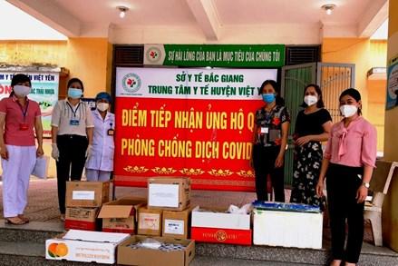 MTTQ huyện Việt Yên tăng cường công tác phòng chống dịch Covid-19
