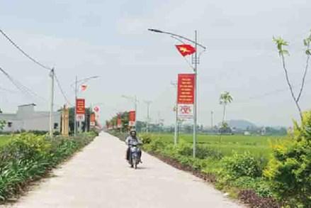 Liêm Phong quyết tâm giữ vững xã nông thôn mới kiểu mẫu nổi trội về môi trường