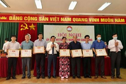 Hội nghị Ủy ban MTTQ tỉnh Cao Bằng lần thứ 5, nhiệm kỳ 2019 - 2024