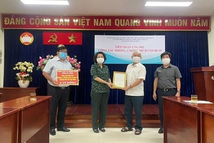 TP.Hồ Chí Minh: Tiếp nhận gần 1000 tỷ đồng ủng hộ công tác phòng, chống dịch Covid-19