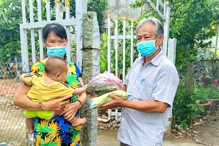 MTTQ huyện Châu Thành phát động vận động, quyên góp chăm lo cho hộ nghèo trong thời gian giãn cách xã hội