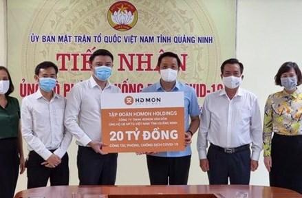 Quảng Ninh: Gần 164 tỷ đồng ủng hộ Quỹ Phòng, chống dịch bệnh Covid-19