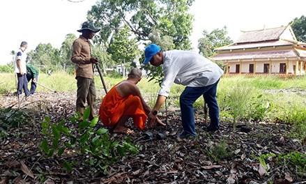 Hậu Giang: Mặt trận góp sức bảo vệ môi trường