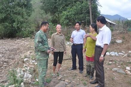MTTQ xã Tam Chung tích cực tham gia bảo vệ đường biên, cột mốc