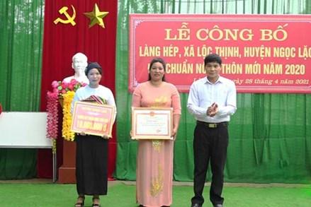 Phát huy vai trò của người dân trong xây dựng thôn, bản nông thôn mới ở huyện Ngọc Lặc