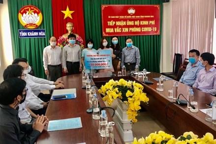 Ủy ban Mặt trận Tổ quốc (MTTQ) Việt Nam tỉnh Khánh Hòa thành lập Trung tâm Cứu trợ Covid-19