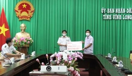 MTTQ tỉnh Vĩnh Long vận động quỹ COVID- 19 gần 14,5 tỷ đồng