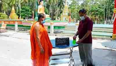 Các chùa Khmer Nam bộ đồng lòng phòng, chống dịch