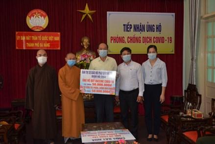 Ủy ban MTTQ TP Đà Nẵng tiếp nhận 150 triệu đồng ủng hộ công tác phòng, chống Covid-19
