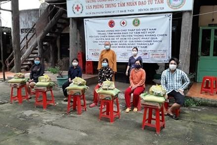 Tăng, Ni, Phật tử ủng hộ sức người, sức của cho công tác phòng chống dịch