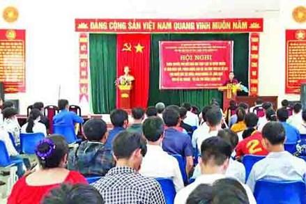 Đẩy mạnh công tác tuyên truyền, phổ biến, giáo dục pháp luật vùng đồng bào dân tộc Mông, Khơ Mú huyện Mường Lát, tỉnh Thanh Hóa