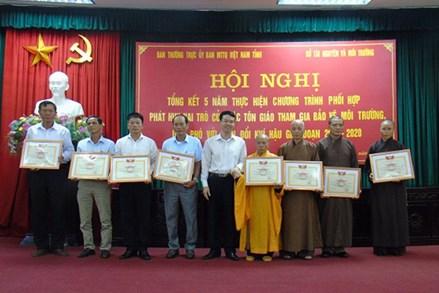 Vai trò của các tổ chức tôn giáo trong bảo vệ môi trường ở Thái Bình - những cách làm sáng tạo