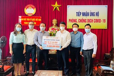 Doanh nghiệp ủng hộ Quỹ vaccine Đà Nẵng 20 tỷ đồng