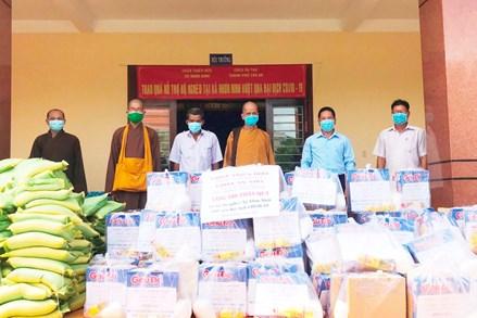 Phật giáo tỉnh Long An chung tay phòng, chống dịch Covid-19