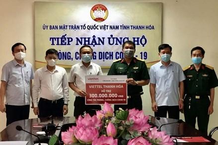 Ủy ban MTTQ tỉnh Thanh Hóa tiếp nhận ủng hộ công tác phòng, chống dịch COVID-19