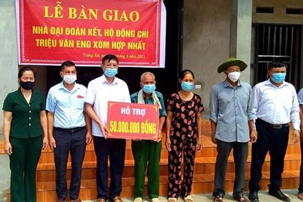 Võ Nhai (Thái Nguyên): Hỗ trợ xây 21 nhà Đại đoàn kết cho hộ nghèo