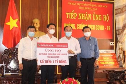 Ủy ban Mặt trận Tổ quốc Việt Nam tỉnh Quảng Nam tiếp nhận ủng hộ 1 tỷ đồng chống dịch Covid-19
