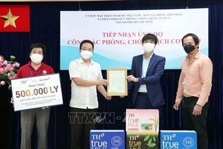 Các doanh nghiệp, địa phương tiếp tục ủng hộ TP Hồ Chí Minh chống dịch