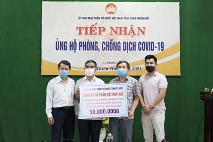 Tiếp nhận ủng hộ người dân Thừa Thiên – Huế tại các tỉnh, thành phía Nam