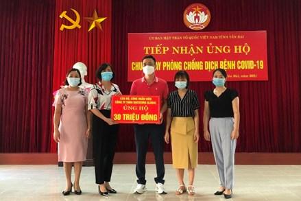 MTTQ các cấp tỉnh Yên Bái chung tay tuyên truyền phòng, chống dịch bệnh Covid-19