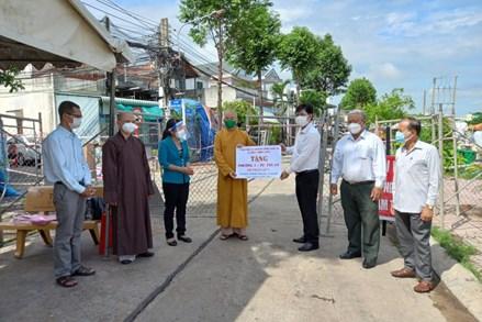 Ban Trị sự Giáo hội Phật giáo Việt Nam tỉnh Long An: Vận động hơn 24,5 tỉ đồng hỗ trợ các hoạt động từ thiện xã hội ở địa phương