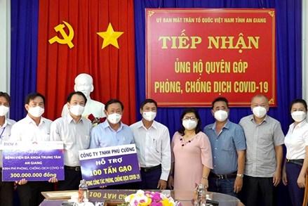 An Giang: Chung tay ủng hộ Quỹ Phòng, chống dịch COVID-19