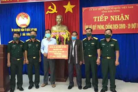 MTTQ tỉnh Đắk Nông tăng cường sức mạnh đại đoàn kết, khơi dậy khát vọng vươn lên
